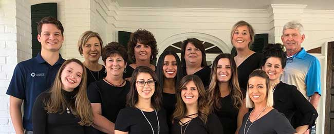 Oubre Orthodontics staff with Orthodontist Dr. Matthew Oubre & Dr. John Oubre